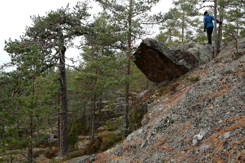 Pyhävuoren kivet ja seinät