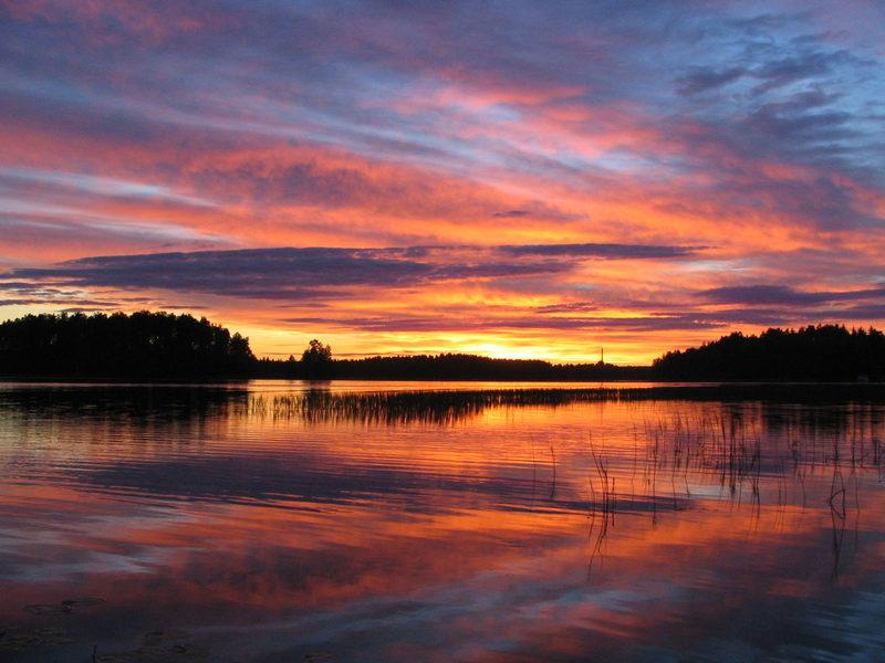 Nyyssänniemi Camping, Finland