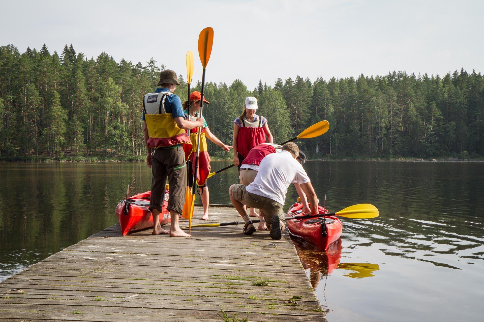 Kayaking intro (1h)