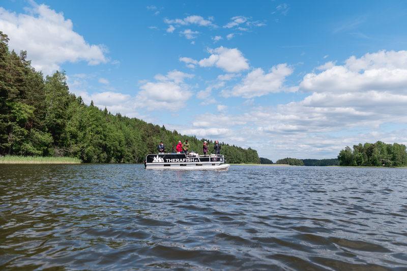 Lohjanjärven tarina (The Story of Lake Lohja - Boating experience)