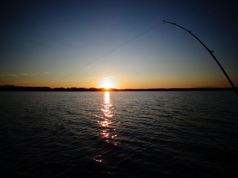 Sunset - Lohjanjärvi on kaunis kuvauskohde