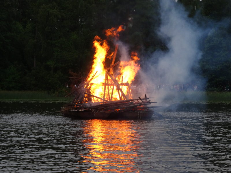 Midnight summer fest - Finnish  tradition  to celebrate the nightless night.