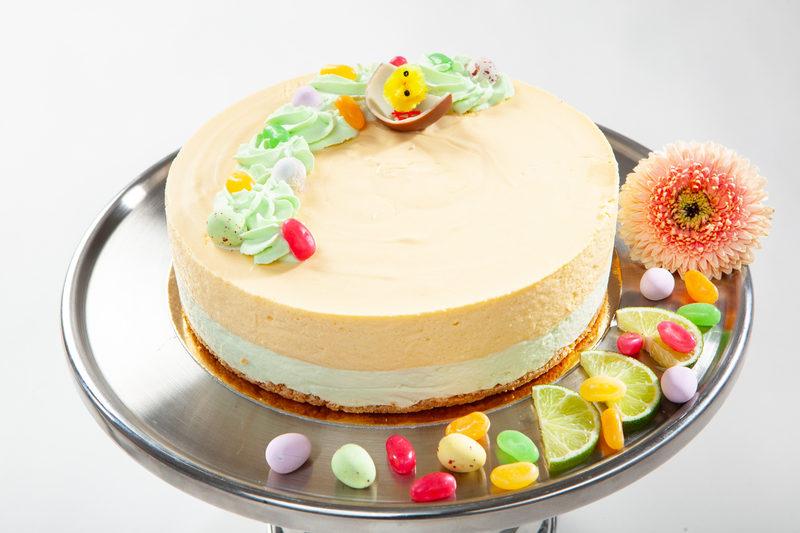 Pääsiäisen Persikka-vanilja juustokakku (L,G)