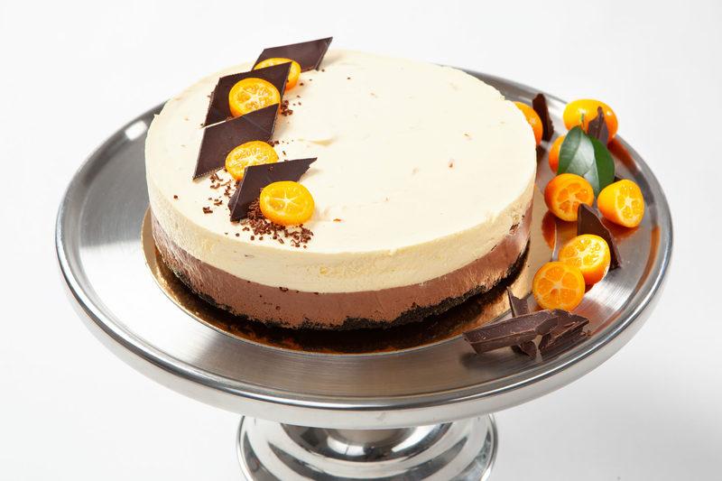 Appelsiini-suklaajuustokakku (L)