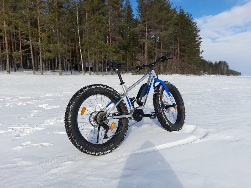 E-Fatbike Rock Machine koko L