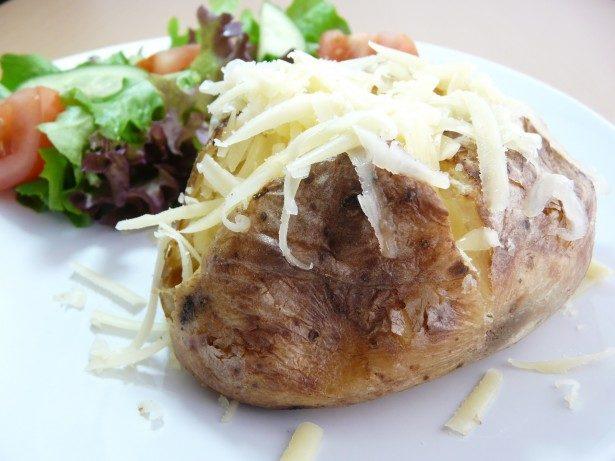 PAJA's Oven potato buffet