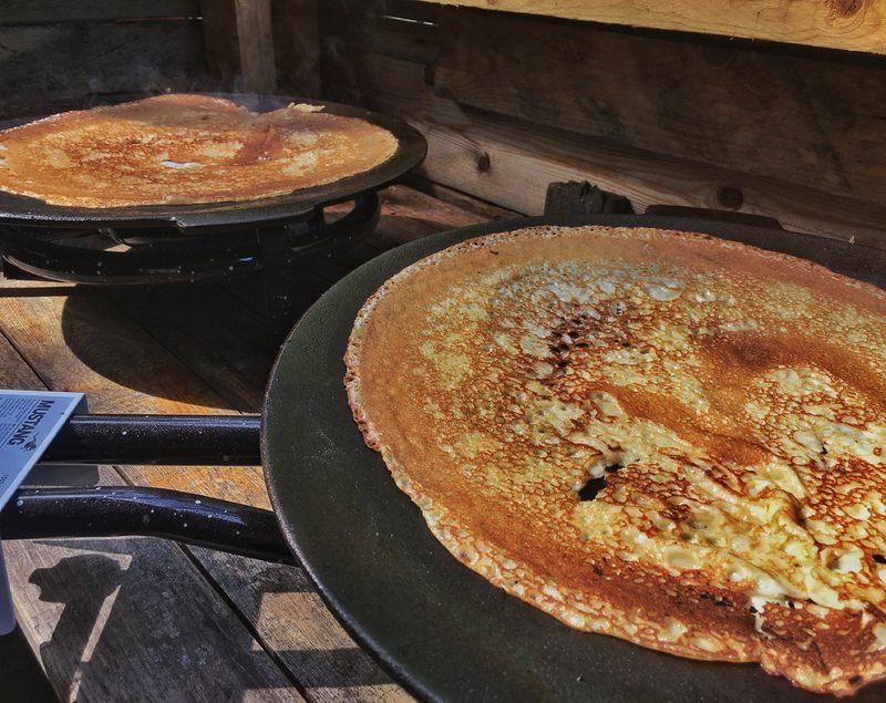 PAJA's salty pancake + soft drink