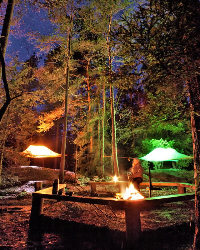 Tentsile Experience Vallisaari  kesä 2020 lahjakortti kahdelle