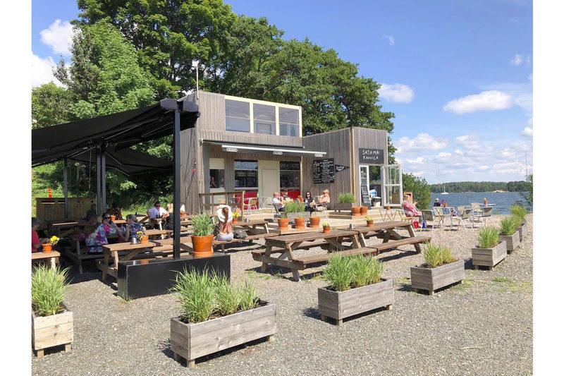 Vallisaari Harbour Café