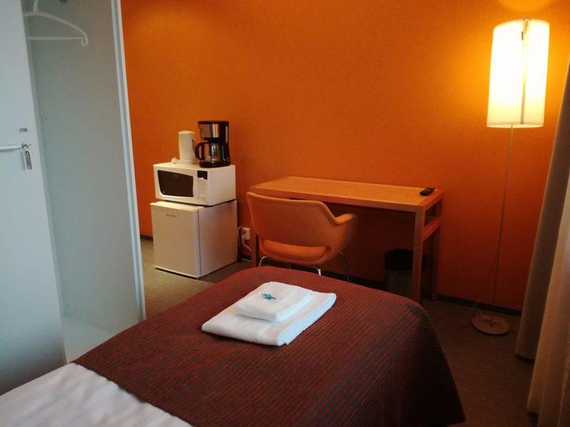Valon single huoneistohotellihuone