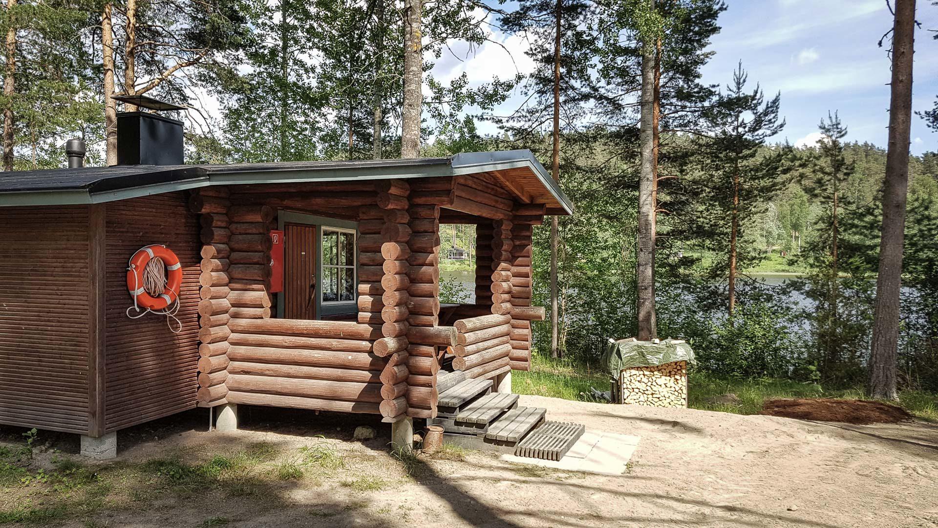 Hirsniemen sauna