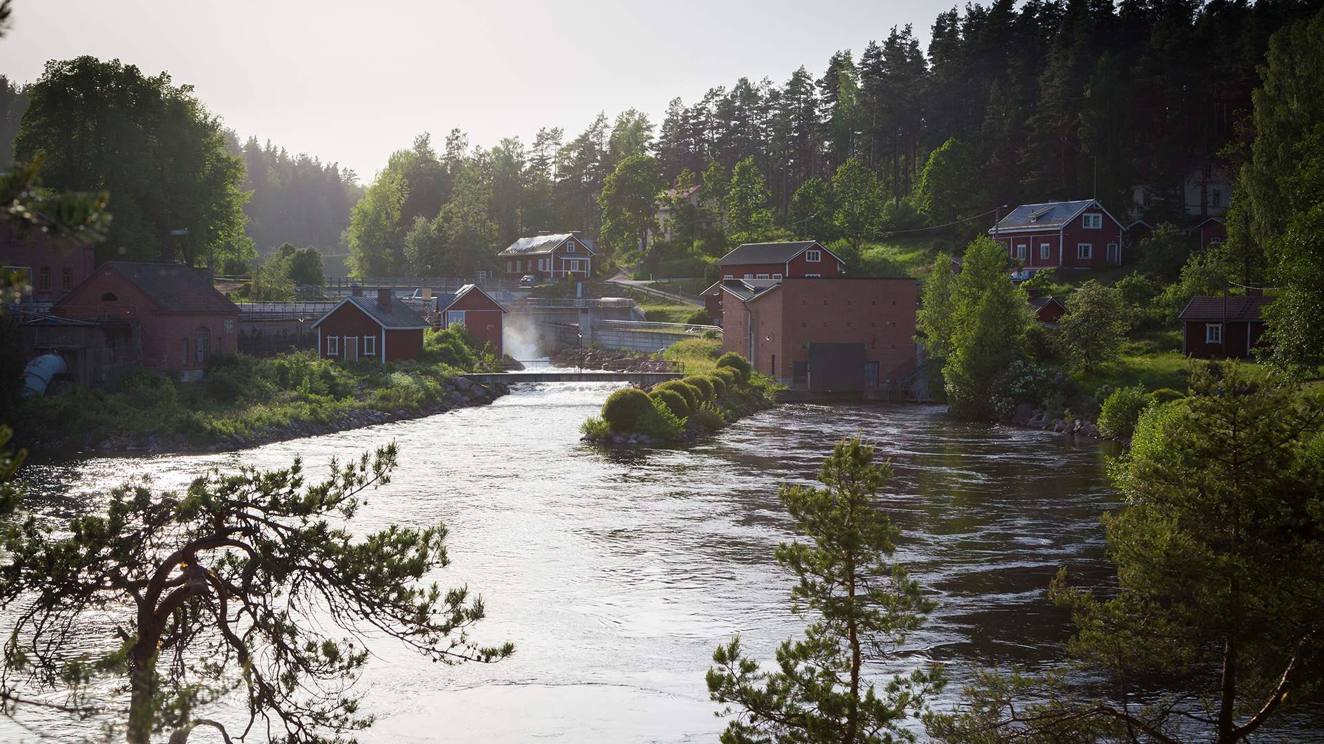 Stories by the idyllic Verla rapids