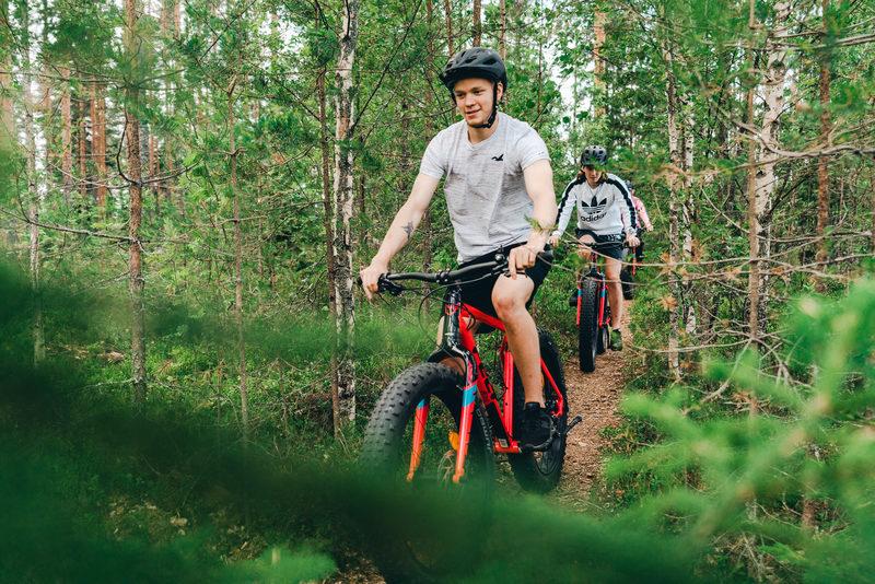 Fatbike-retket iltaisin Jyväskylässä joka torstai 16.7. – 20.8. 2020