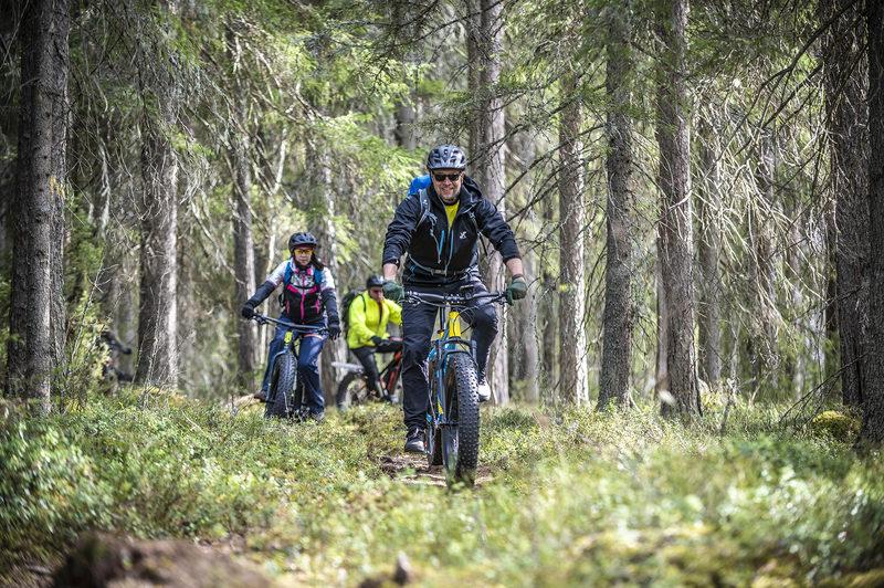 Tyhy-päivä pyöräillen Keski-Suomen alueella 6h