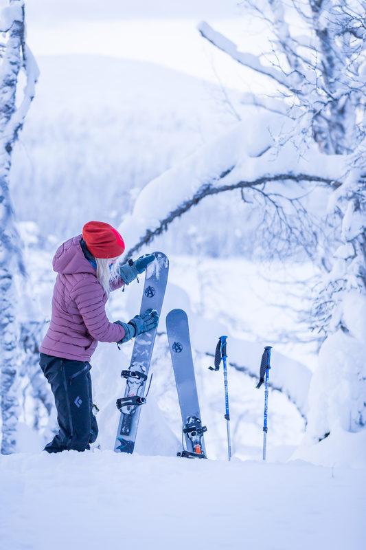 Likulumikengillä upeaa talviseen luontoon