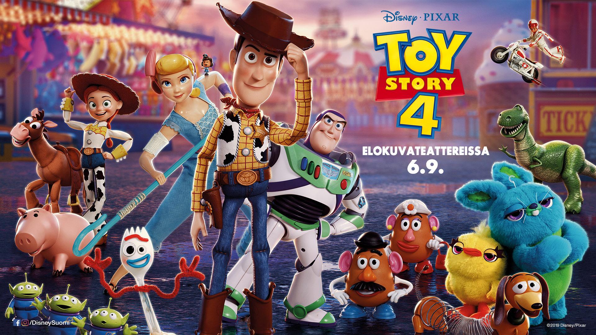 Toy Story 4 DUB 2D