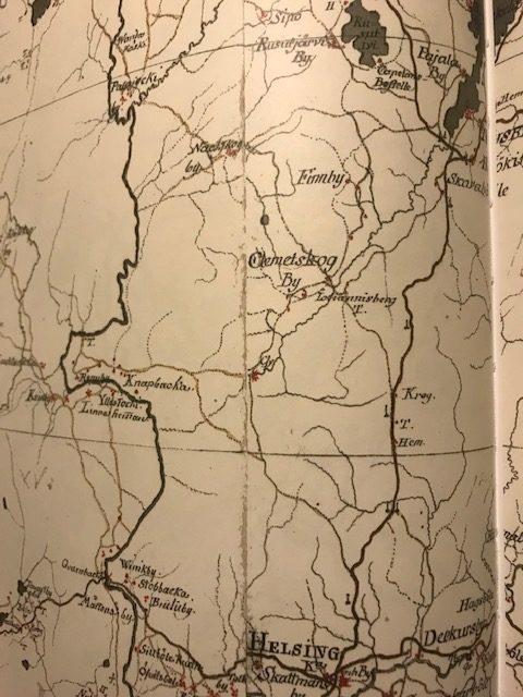 Ruotsinkylä oli vauras maalaiskylä jo 1700-luvulla - Maisalantie on kulkenut sijoillaan jo satoja vuosia.