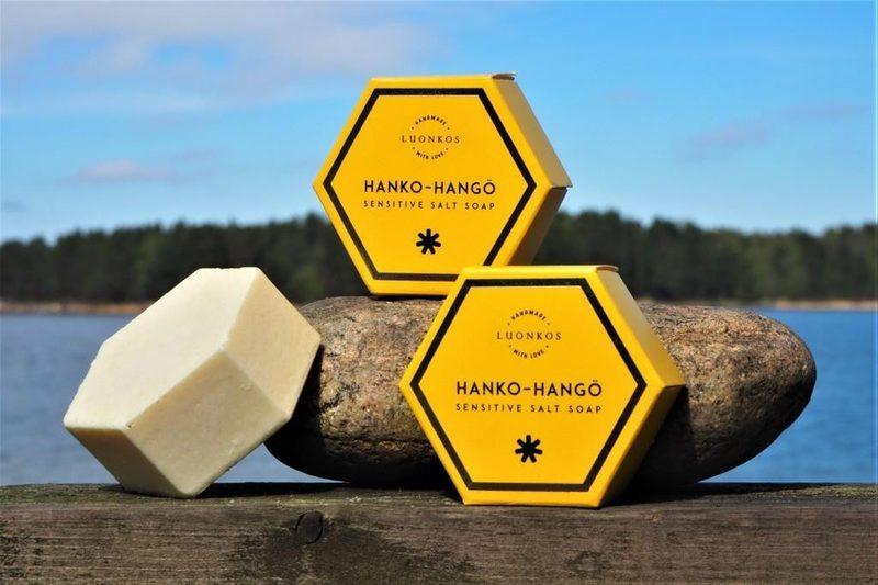 Hanko - sensitive salt soap