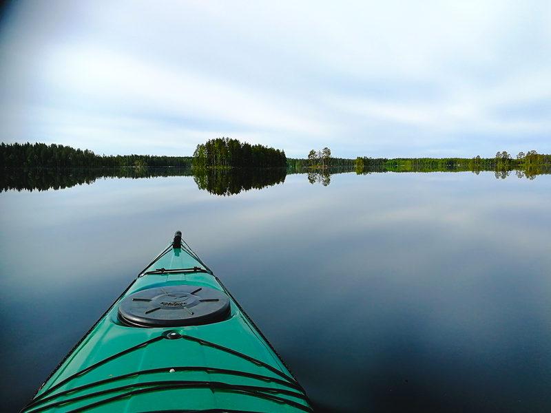 Salamajärven melontareitti 12,5 km