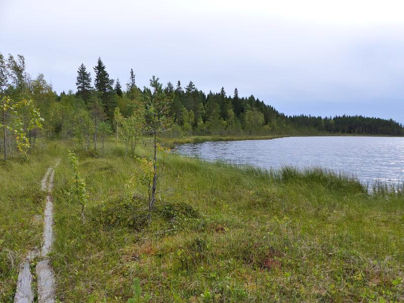 Eskolan neljän vesistön retkeilyreitti 13 km, Kannus
