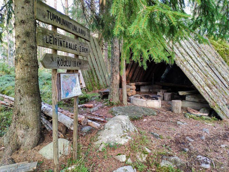 Vitaringin luontopolku 11,3 km, Kaustinen