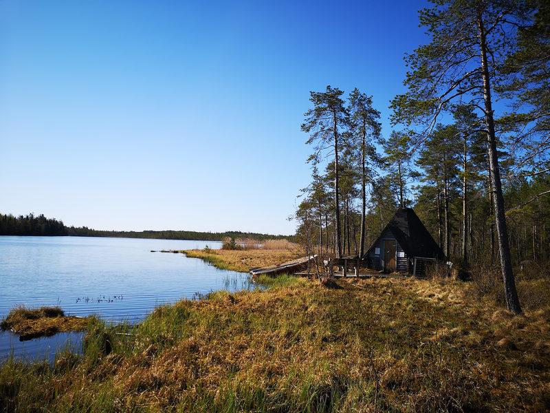 Päiväjärven kodan luontopolku 0,8 km, Kokkola