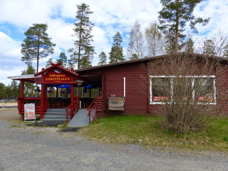 Valkeisjärven leirintäalue, Lestijärvi