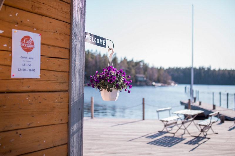 Cafe Bryggan, aitoa meritunnelmaa Öjan saaristossa