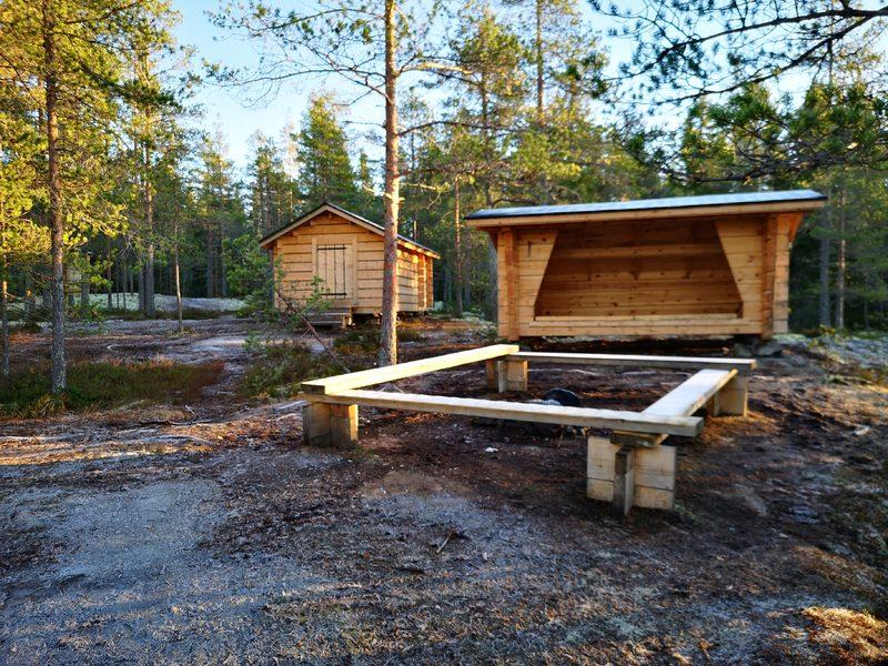 Jämsänkallion luontopolku Kotajärven ympäri 4,7 km, Toholampi