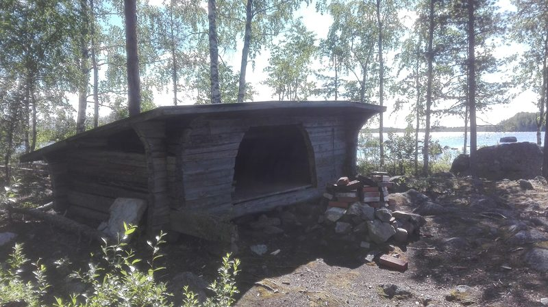Luontopolku järvimaisemissa Hongisto-Saparoniemen laavu 3,7 km, Toholampi