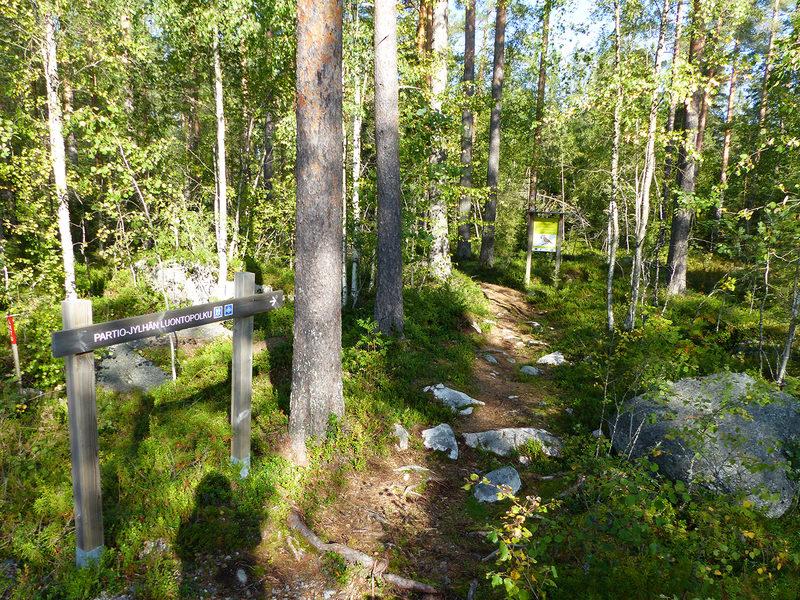 Partio-Jylhän luontopolku 3,5 km, Kannus