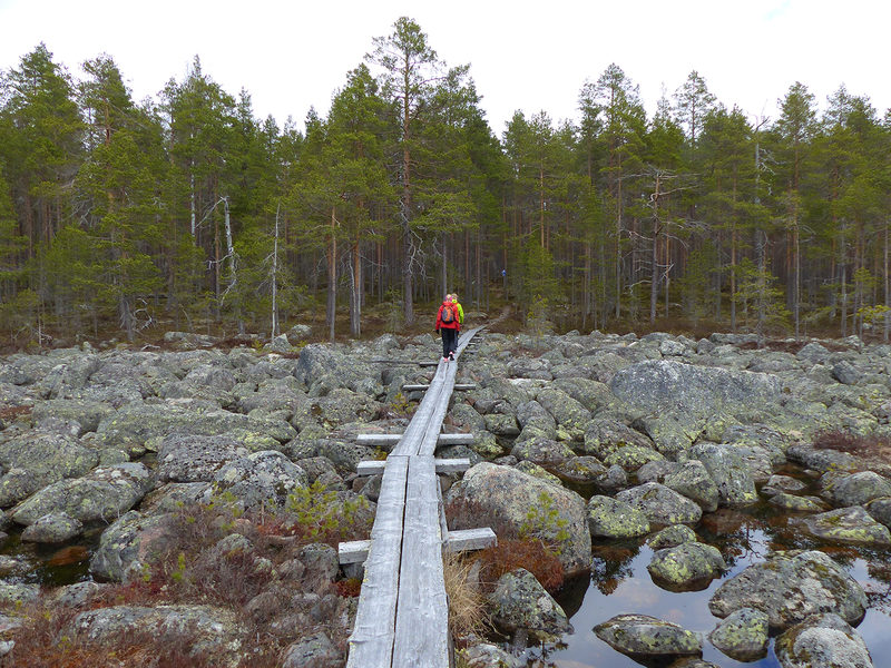 Pahapuron lenkki, 7 km