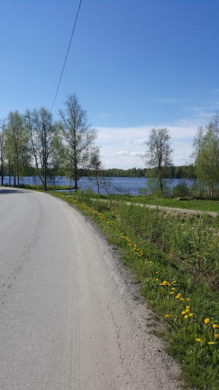 Öjan pyöräilyreitti saaristomaisemissa 35,7 km