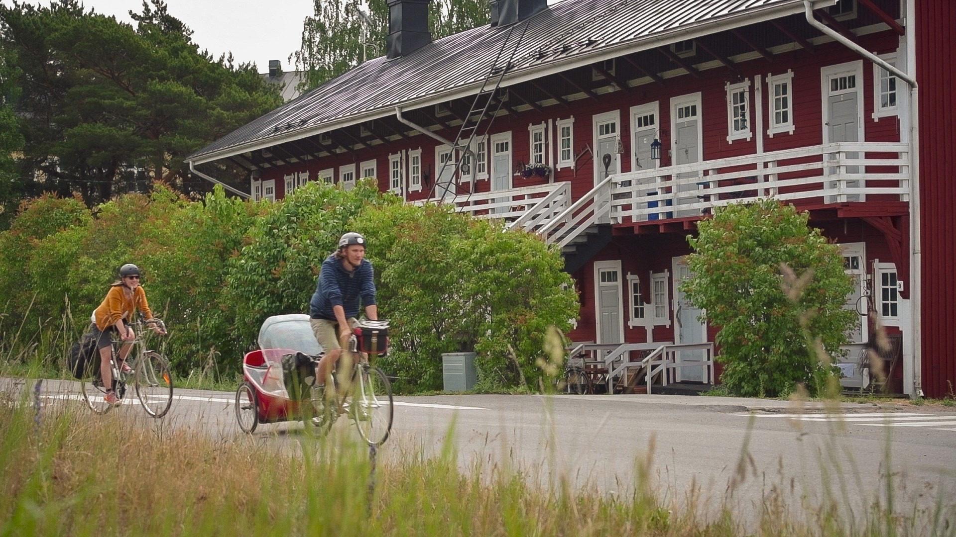Pyöräily Rannikkoreitillä ja Kemiönsaaressa