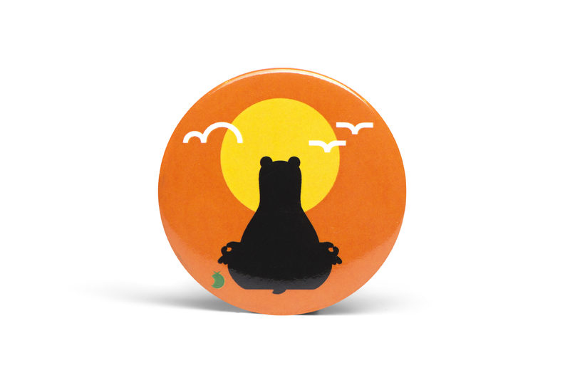 Yogabear Badge