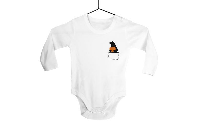 Sydänkarhu -vauvabody