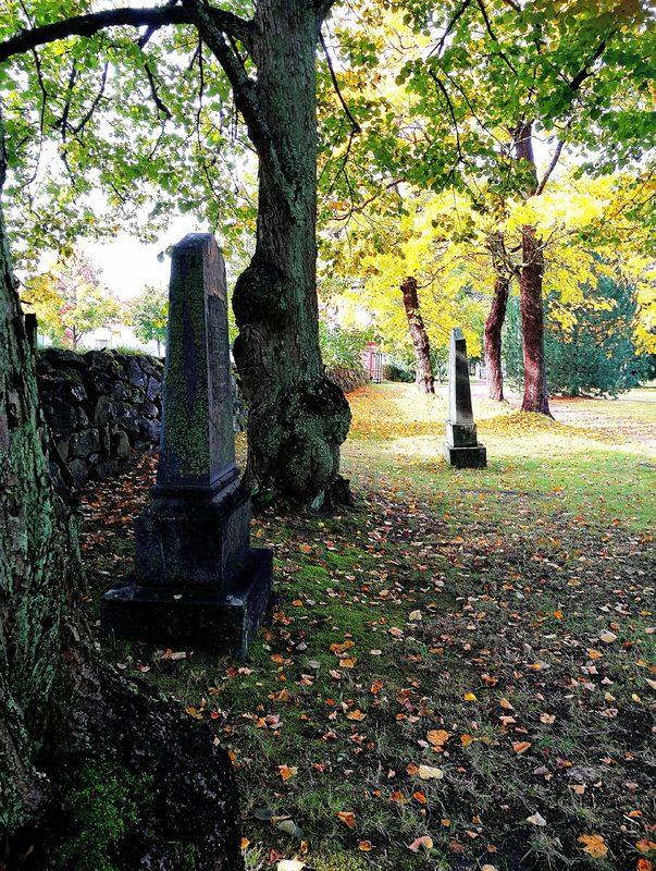 Kävelykierros Porin vanhalla hautausmaalla