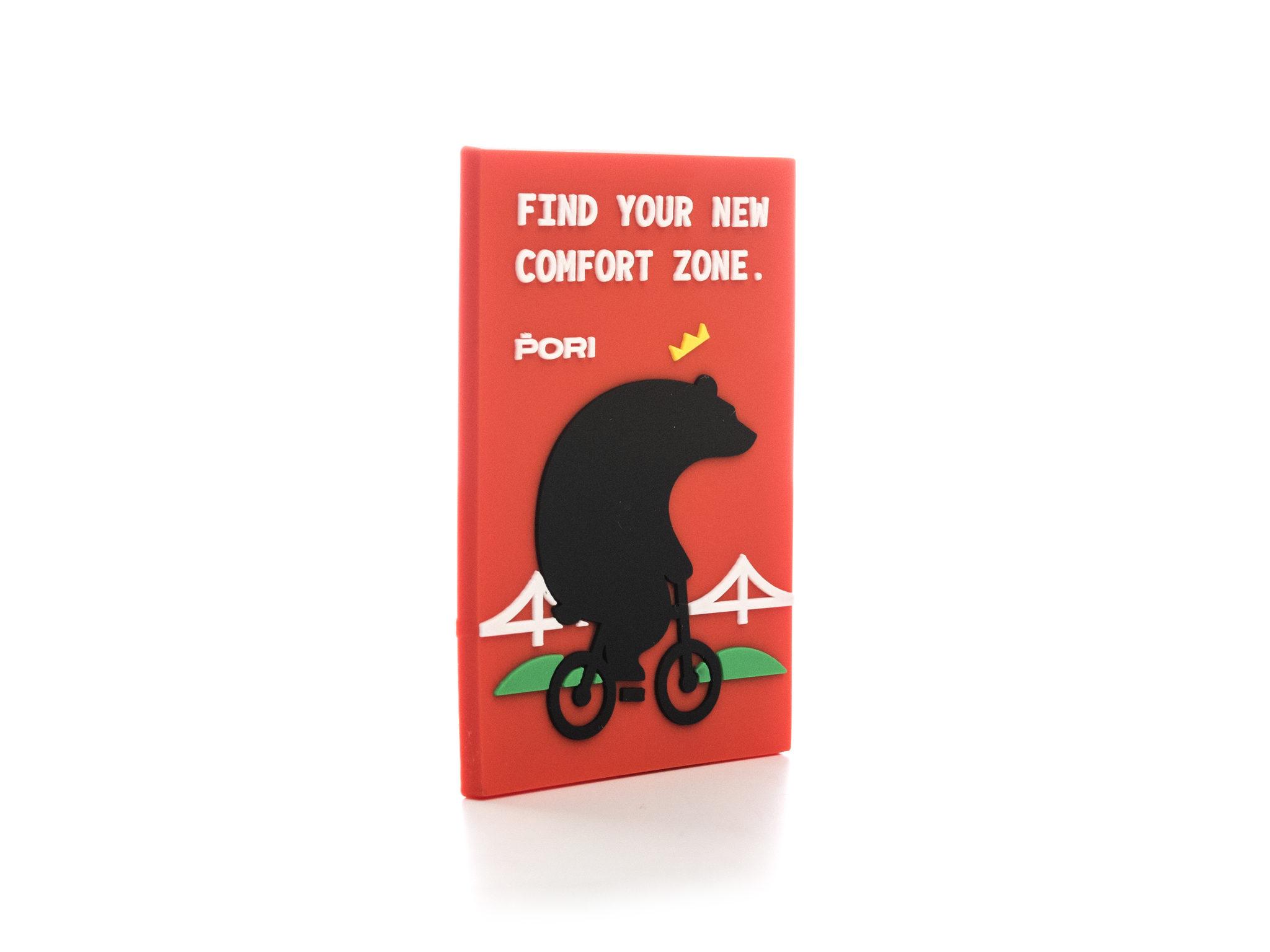 Pyöräkarhu -magneetti