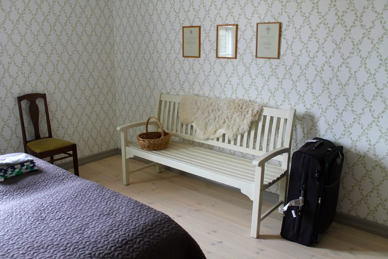 Vestlax Mellangård Bed and Breakfast- North East room