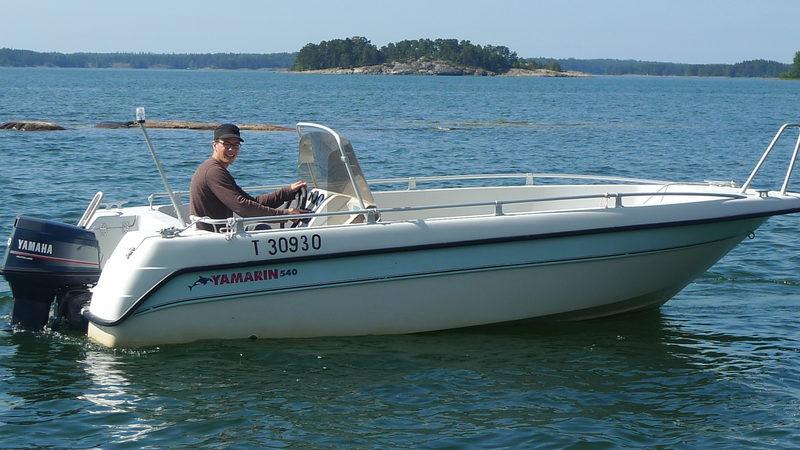 Boat rental Yamarin