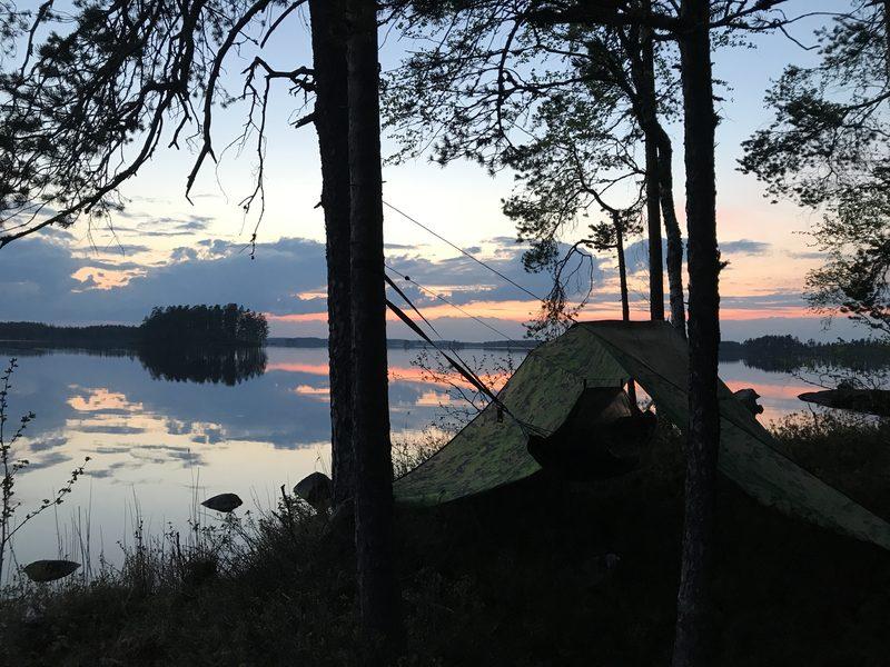 Yhden yön vaellus Salamajärven kansallispuistossa