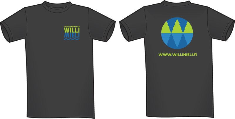 Willimielen T-paita