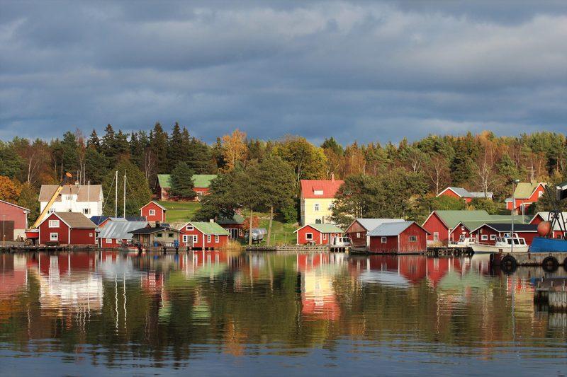 Örö - Rosala 2021 kesäliikenne