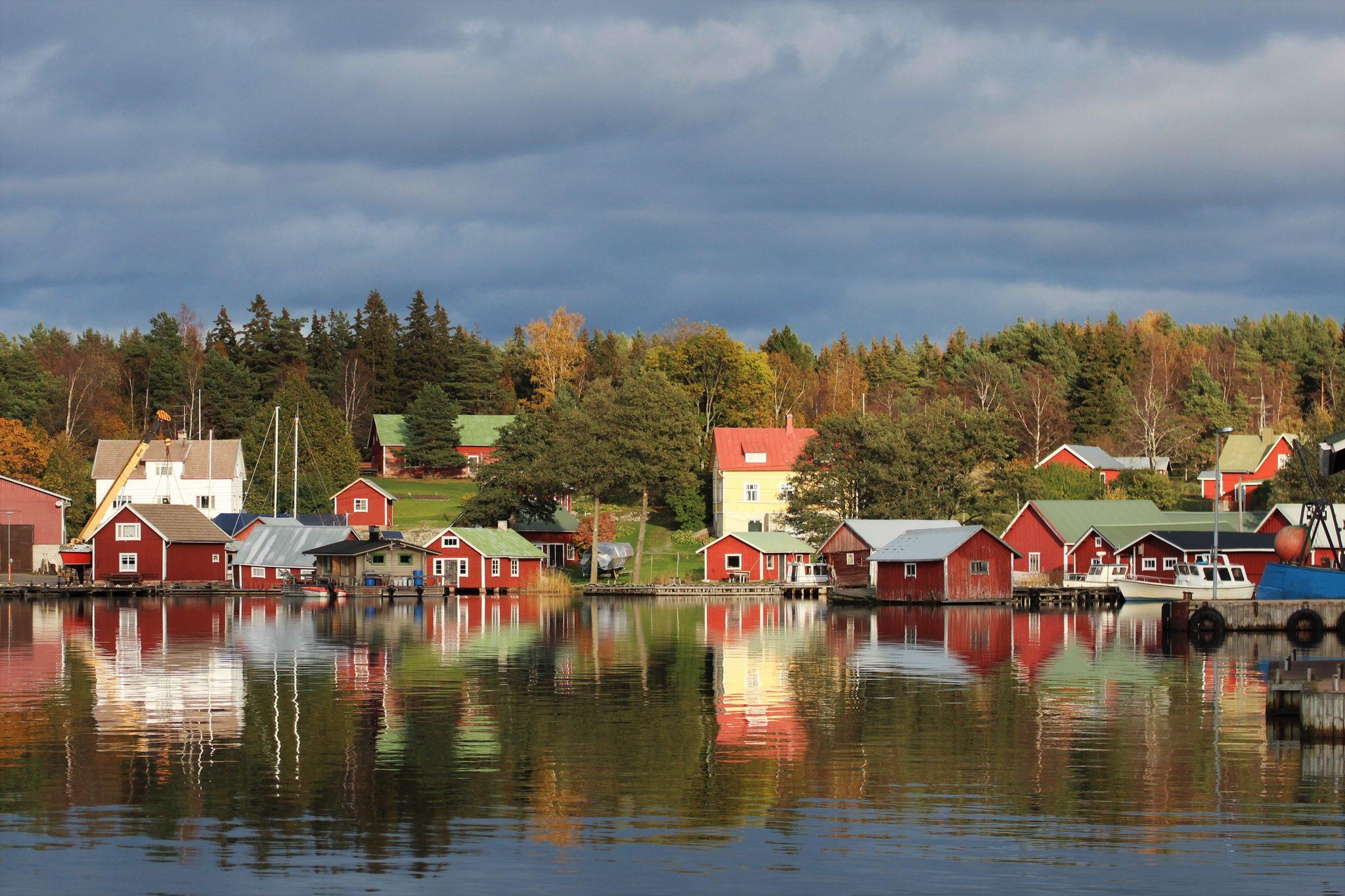 Örö - Rosala 2021 sommartrafik