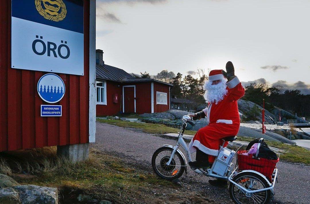 Sjöresor - Örö jul 2020 - Örö nyår 2021