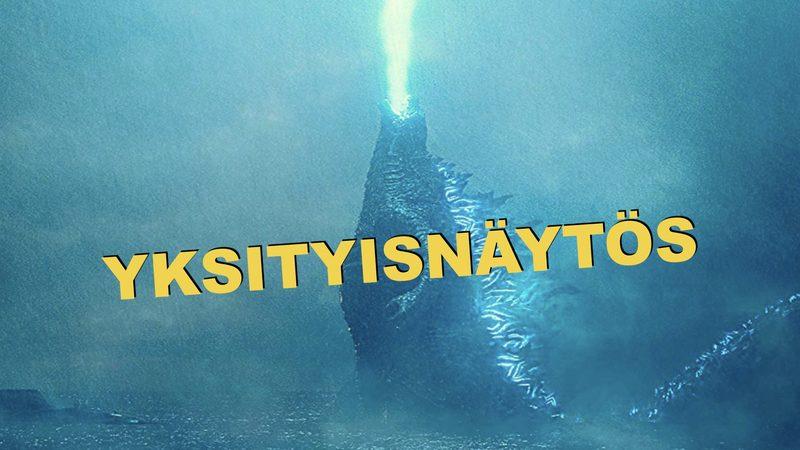 YKSITYISNÄYTÖS: Godzilla II: King of the Monsters