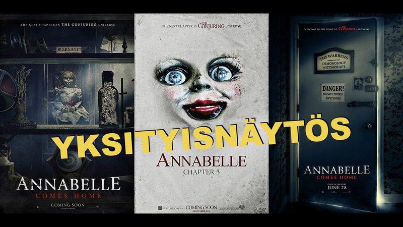 YKSITYISNÄYTÖS: Annabelle comes home