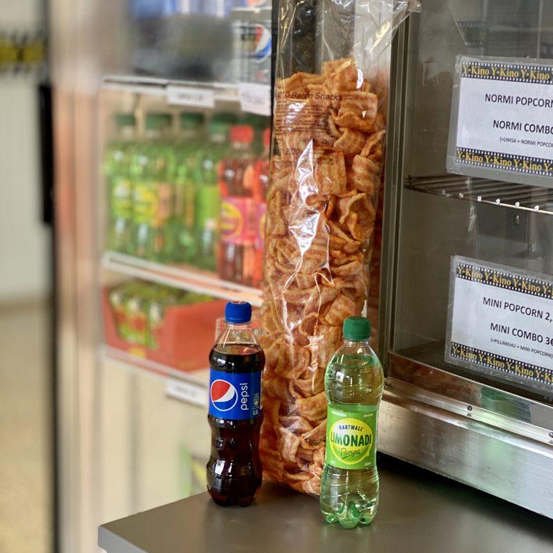 Bacon Snacs SUURCOMBO (sis. 2 juomaa)