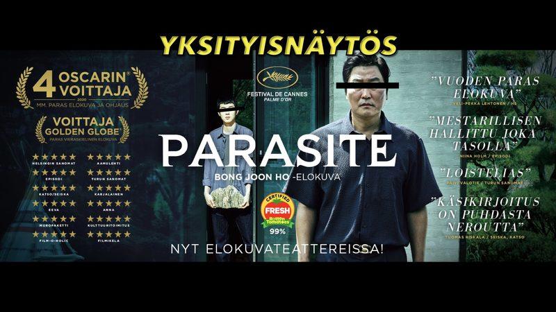 Parasite - YKSITYISNÄYTÖS