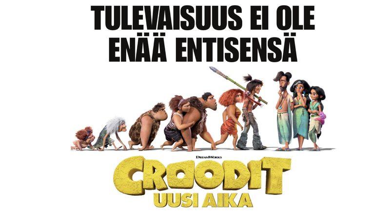 Croodit - uusi aika